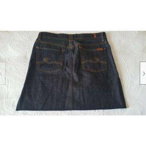7 For All Mankind Short Mini Jeans Denim NWOT